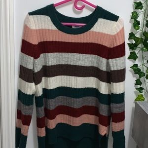 Old Navy Cozy Striped Sweater